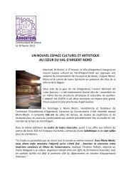 CP nouvel espace culturel et artistique val nord d'argent - Argenteuil