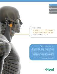 Trouble de l'articulation temporo-mandibulaire - Heel