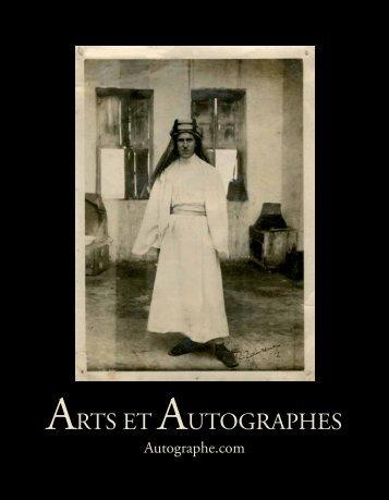 ici - Arts et Autographes