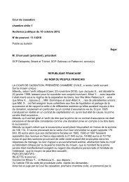 Civ.1 e , 10 octobre 2012, pourvoi n°11-14018 - L'Argus de l ...