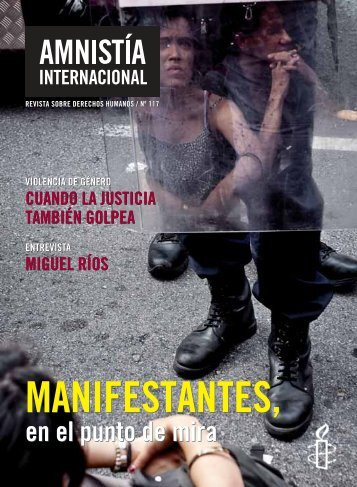 manifestantes, manifestantes - Amnistía Internacional España