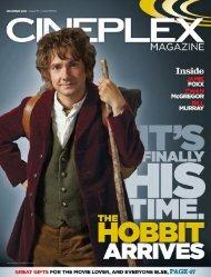 Cineplex Magazine December 2012