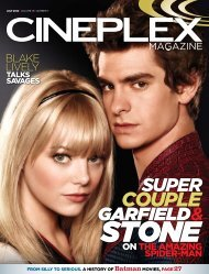 Cineplex Magazine July 2012