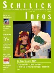 Schilick Infos n°11 Janvier 2007 - Profadis