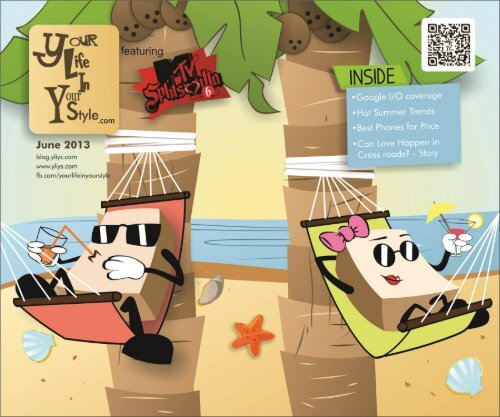 #6 Your Life In Your Style June Summer Edition YLIYS Online Youth Magazine