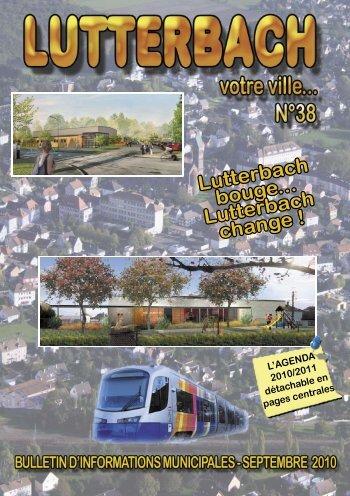 Bulletin municipal n°38 - Lutterbach