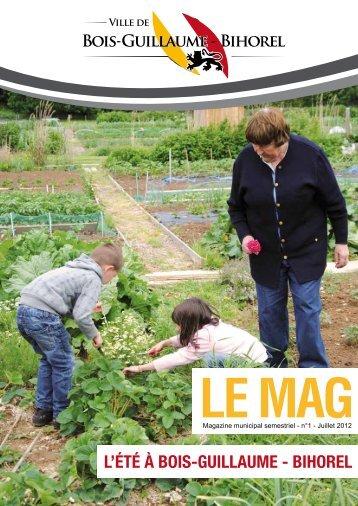Le Mag - Juillet 2012 - Bois-Guillaume-Bihorel