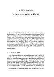 Le Parti communiste et Mai 68 - Pouvoirs