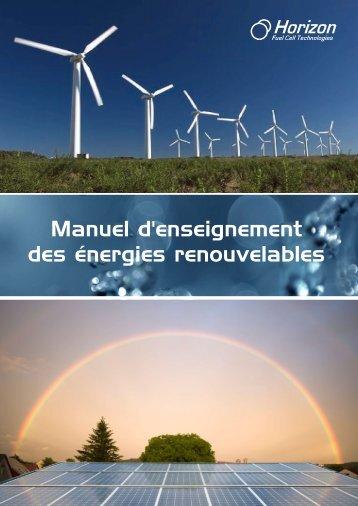 Manuel d'enseignement des énergies renouvelables