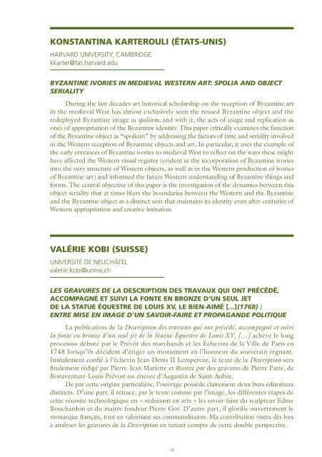 COMMUNICATIONS - Réseau International pour la Formation à la ...