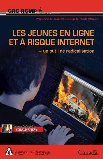 Les jeunes en Ligne et à risque internet - Gendarmerie royale du ...