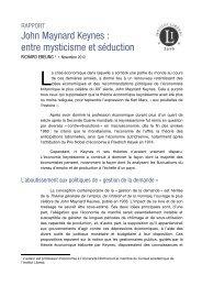 John Maynard Keynes : entre mysticisme et séduction