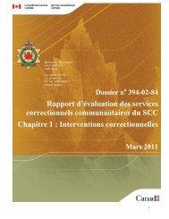 PDF (1,8 mo) - Service correctionnel du Canada