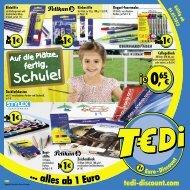 TEDi - Auf die Plätze fertig, Schule!