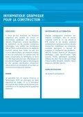 Master INFORMATIQUE GRAPHIQUE POUR LA CONSTRUCTION - Page 3