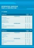 Master INFORMATIQUE GRAPHIQUE POUR LA CONSTRUCTION - Page 4