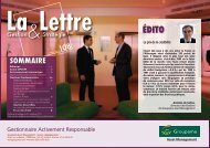 Lettre n°108 - Groupama Asset Management