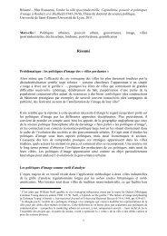 Résumé thèse de Max Rousseau - Certu