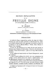 FEUILLE DIGNE - Revue de géologie alpine