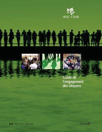 Version PDF (3,34 Mo) - Instituts de recherche en santé du Canada