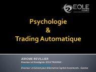 Psychologie & Trading Automatique - Eole Trading