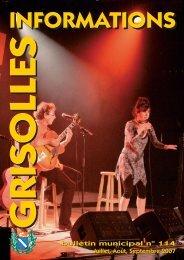 Grisolles Infos N°114 - CDG82