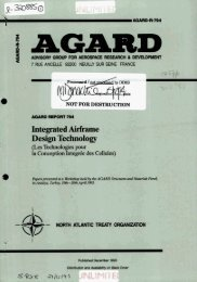 Integrated Airframe Design Technology - NATO Research ...