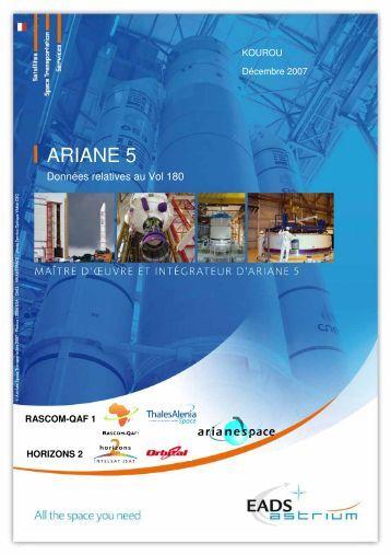 Dossier de Vol 180 - Astrium - EADS