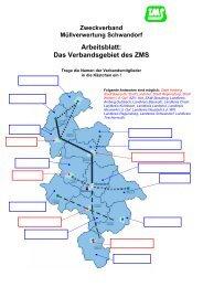 Arbeitsblatt - Zweckverband Müllverwertung