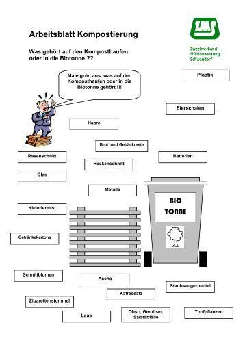 Arbeitsblatt Mülltrennung Xiaomi : Mülltrennung