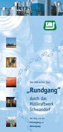 """""""Rundgang"""" - ZMS - Zweckverband Müllverwertung"""