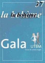 4 Dossier Gala 2007 - Association des étudiants de l'UTBM