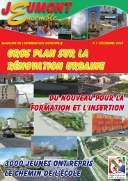 Gros plan sur la rénovation urbaine - mairie de Jeumont