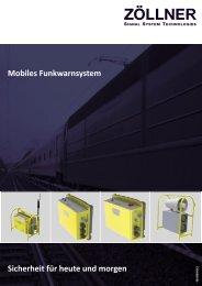 Mobiles Funkwarnsystem - ZÖLLNER Signal GmbH