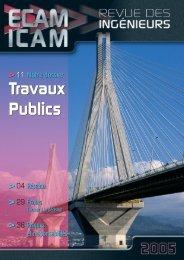 Travaux Publics Travaux Publics - ICAM