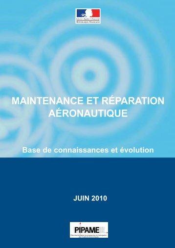 Maintenance et réparation aéronautique - Dgcis