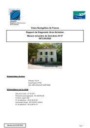 Voies Navigables de France Rapport de Diagnostic Gros Entretien ...