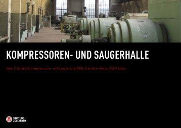 KOMPRESSOREN- UND SAUGERHALLE