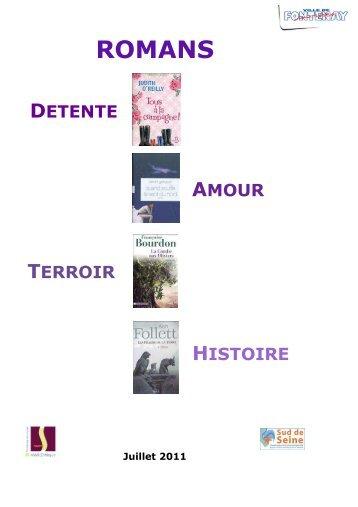 ROMANS - Médiathèque de Fontenay aux Roses