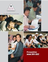 Prospektus MMR 2011-2012 - Gamel FK UGM
