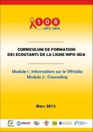 module 1 : informations sur le ViH/sida