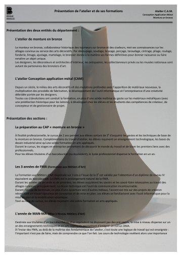 Télécharger le PDF - Ecole Boulle