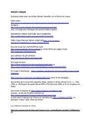 Ressources Sites - Accueil du site