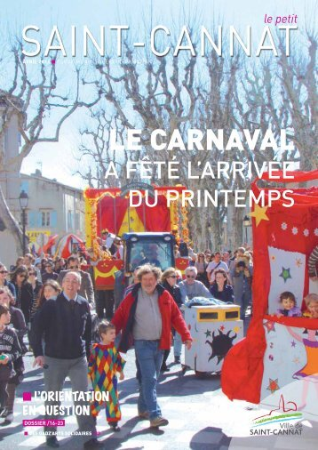 LE CARNAVAL - Saint-Cannat