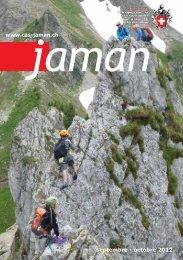 septembre - octobre 2012 www.cas-jaman.ch - Club Alpin Suisse ...