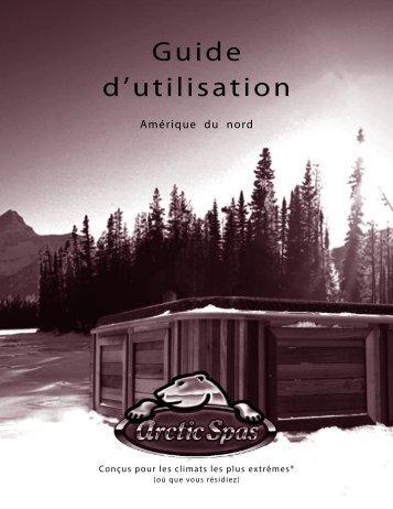 Guide d'utilisation - Arctic Spas