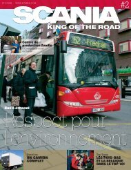 KING OF THE ROAD - Scania - scania belgium