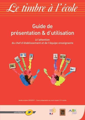 Guide de présentation & d'utilisation - Philotablo