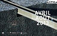 Télécharger le programme de la Cité d'avril à août 2013 - Cité de l ...