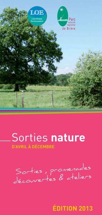guide des sorties nature 2013 - CPIE Loire océane